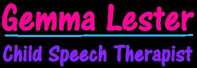 Gemma Lester Childrens Speech Therapist
